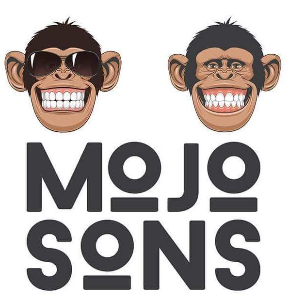 mojosons logo real monkeys