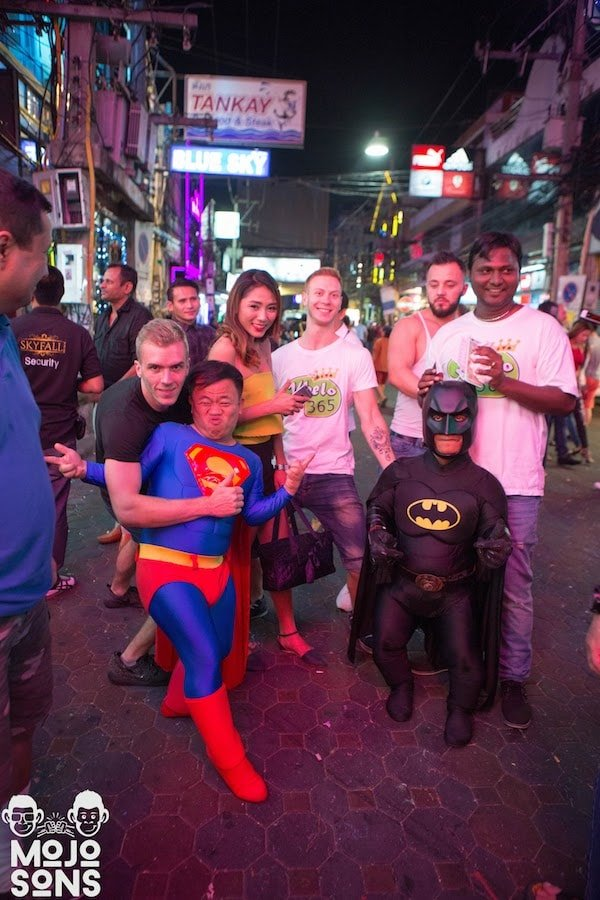 batman superman superheroes dwarf pattaya