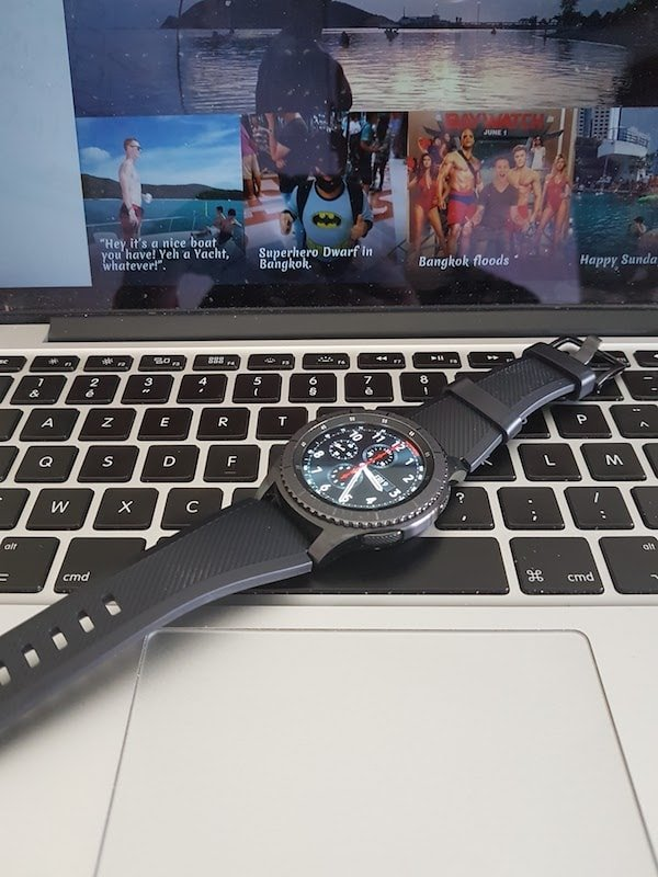 samsung gear s3 macbook