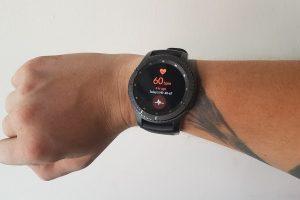 smartwatch gear s3 heart