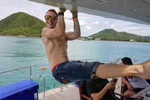 mojomatt yacht party thailand
