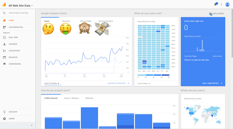 google analytics preview 18