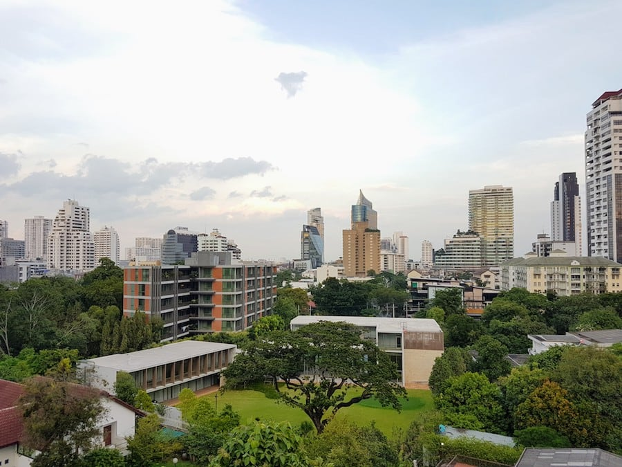 thonglor area in Bangkok
