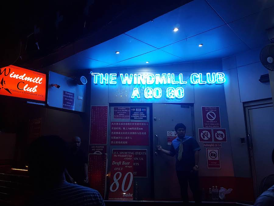 gogo bar pattaya windmill