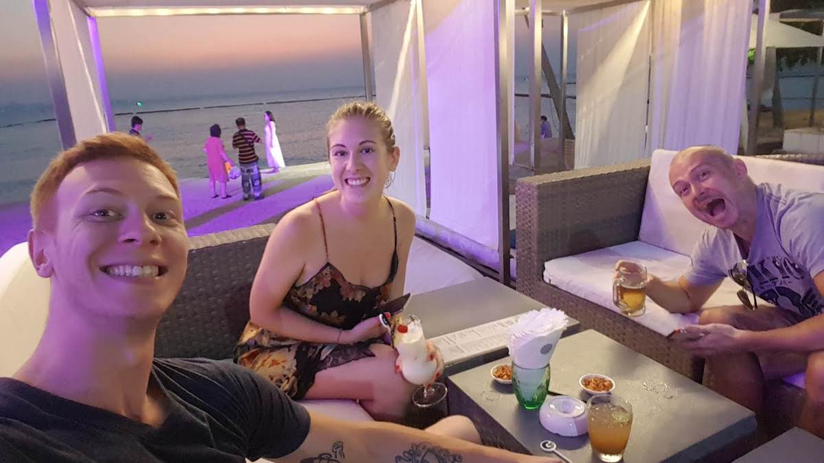 pattaya wongamat beach drink