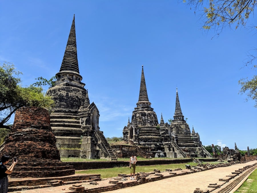 ayutthaya old temples