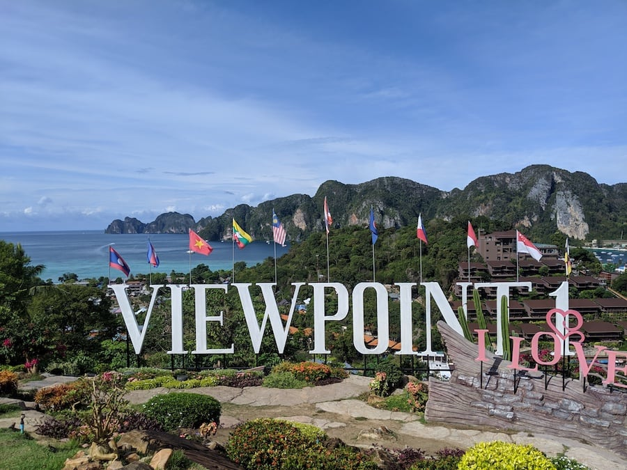 koh phi phi viewpoint one