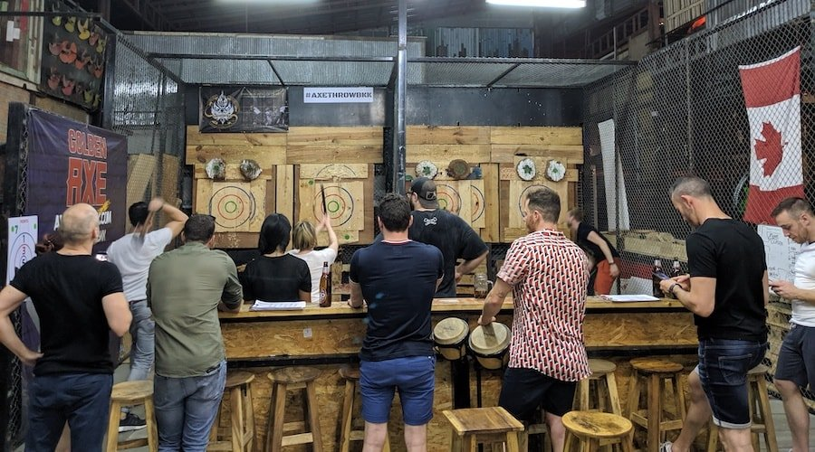 axe throwing bangkok ratchada