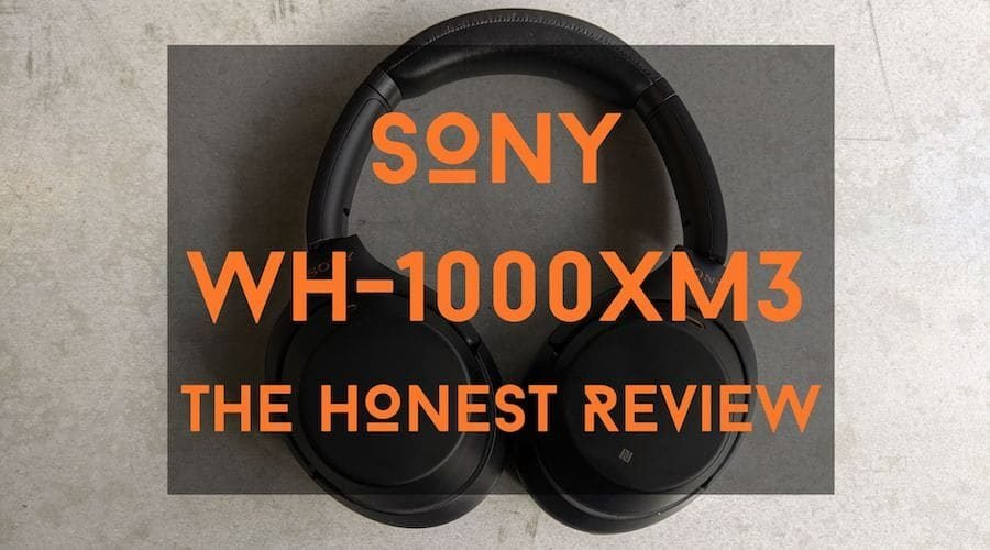 sony wh-1000xm3 review blog post title
