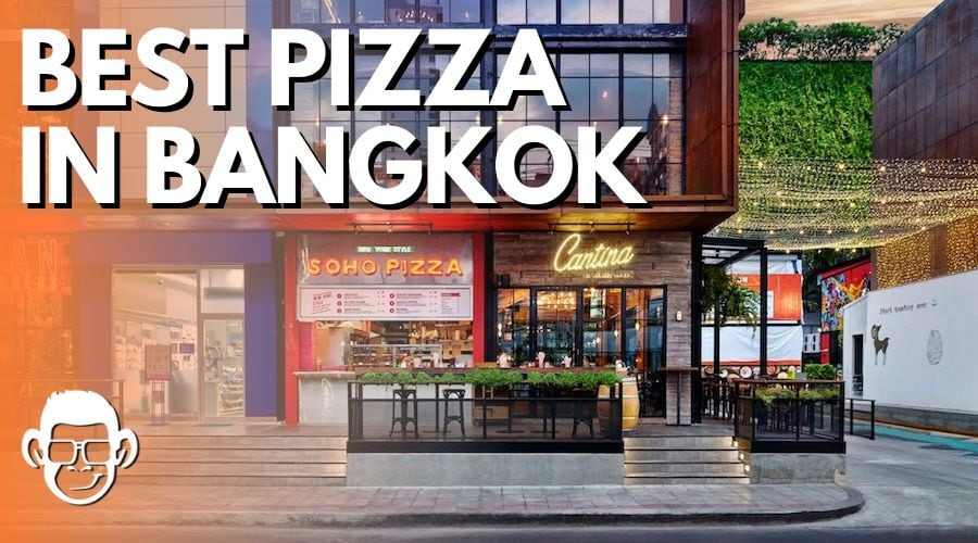 featured image for the best pizza in Bangkok blog post on mojomatt