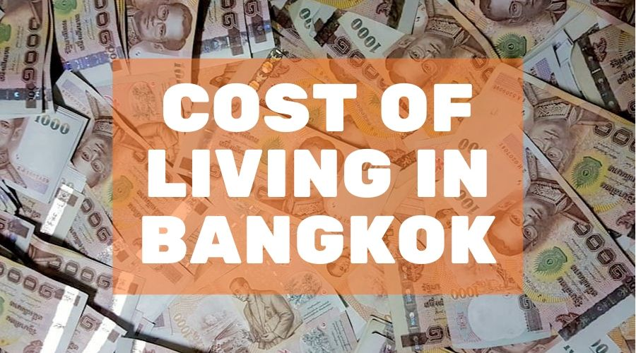 blog cover for the cost of living post in Bangkok on mojomatt blog