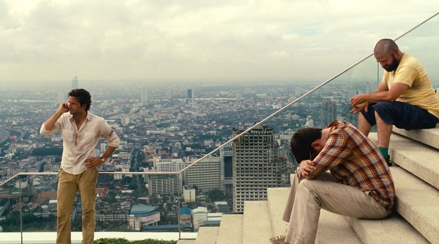 hangover II movie scene at Skybar at Lebua State Tower