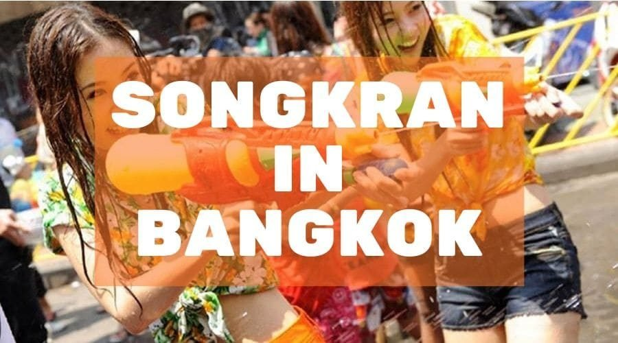 blog post cover mojomatt songkran in Bangkok