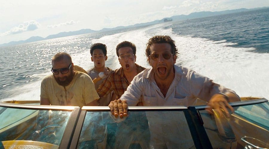 the hangover part II movie boat