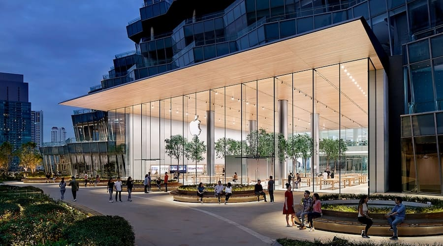 Apple store at Iconsiam in Bangkok