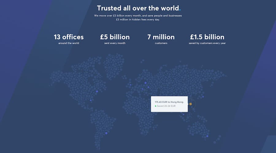 numbers of transferwise