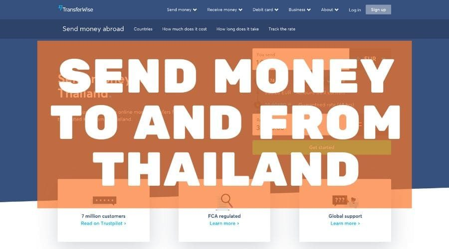 Send money to and from Thailand blog post cover for mojomatt