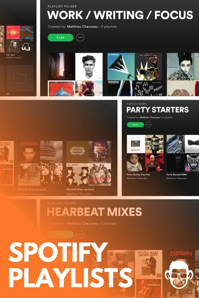 pinterest image for spotify playlists blog post on mojomatt