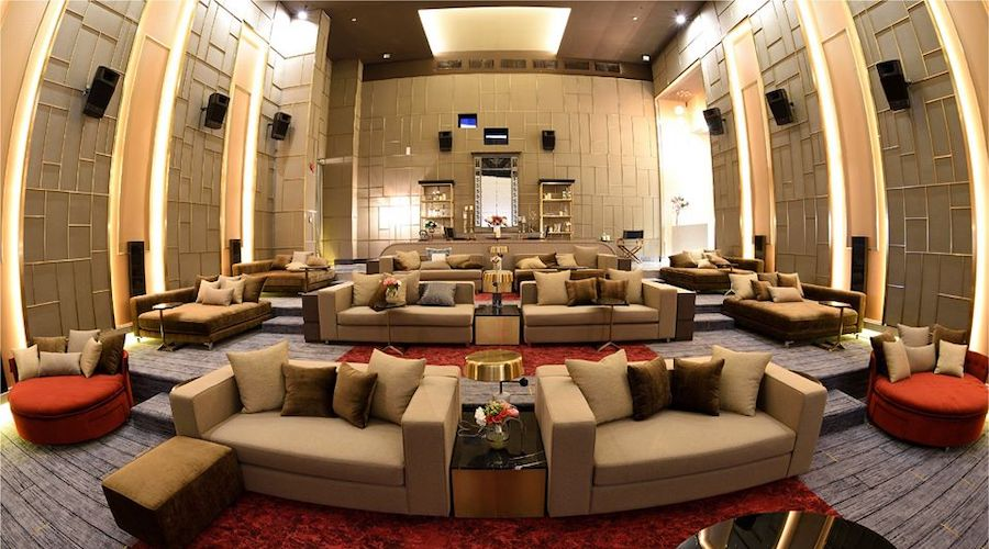 luxury cinema at siam paragon in Bangkok