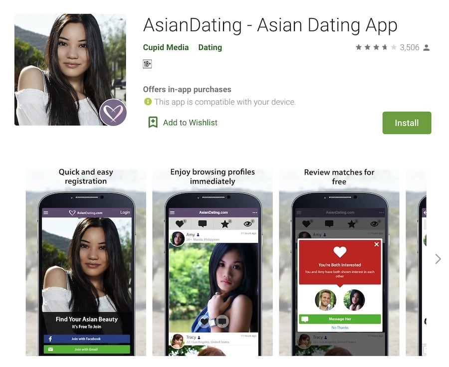 asiandating app for android