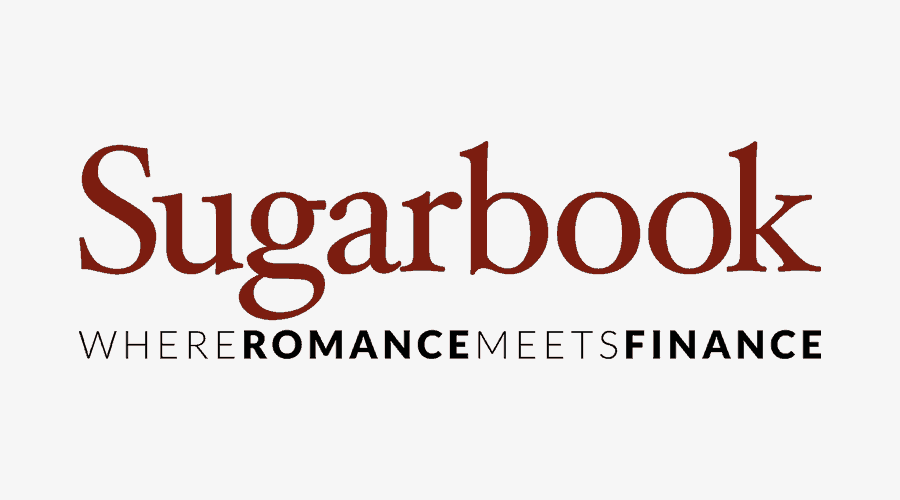 sugarbook logo and tagline