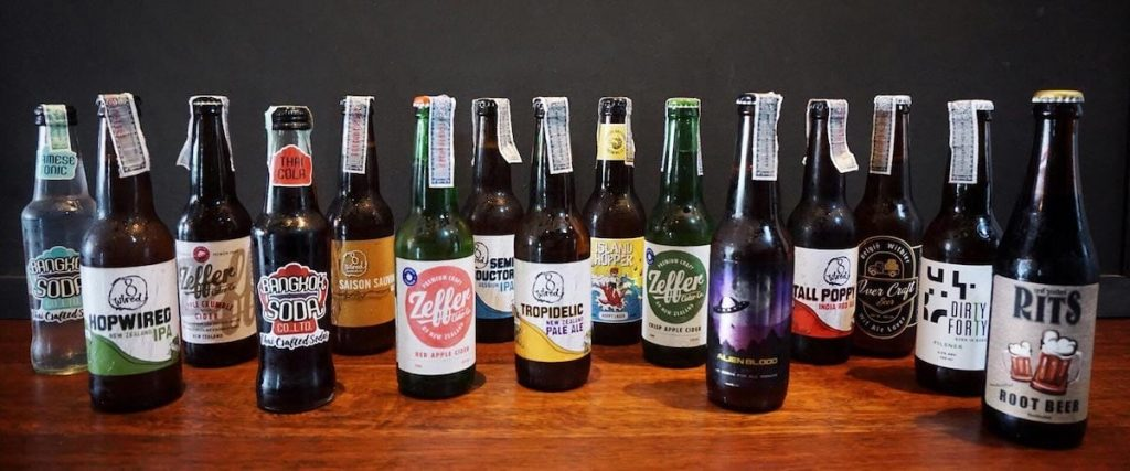 thai craft beers photo by asian craft burger
