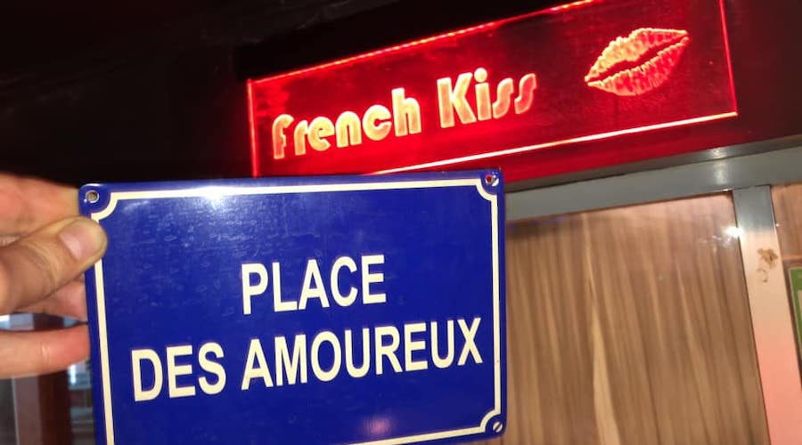 french kiss restaurant in Bangkok