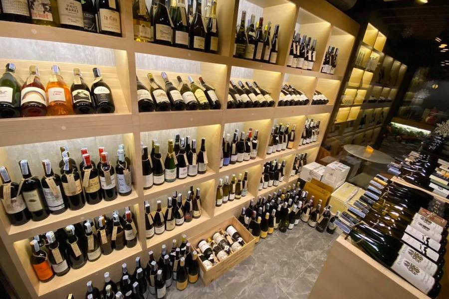 terroir expression wine cellar in Bangkok