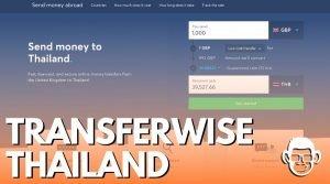 transferwise in Thailand blog post cover for mojomatt blog