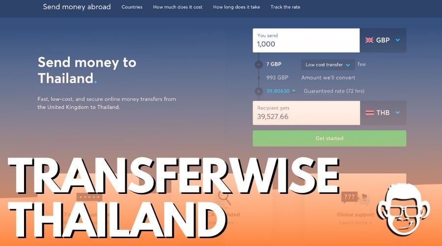 transferwise in Thailand blog post cover for mojomatt blog