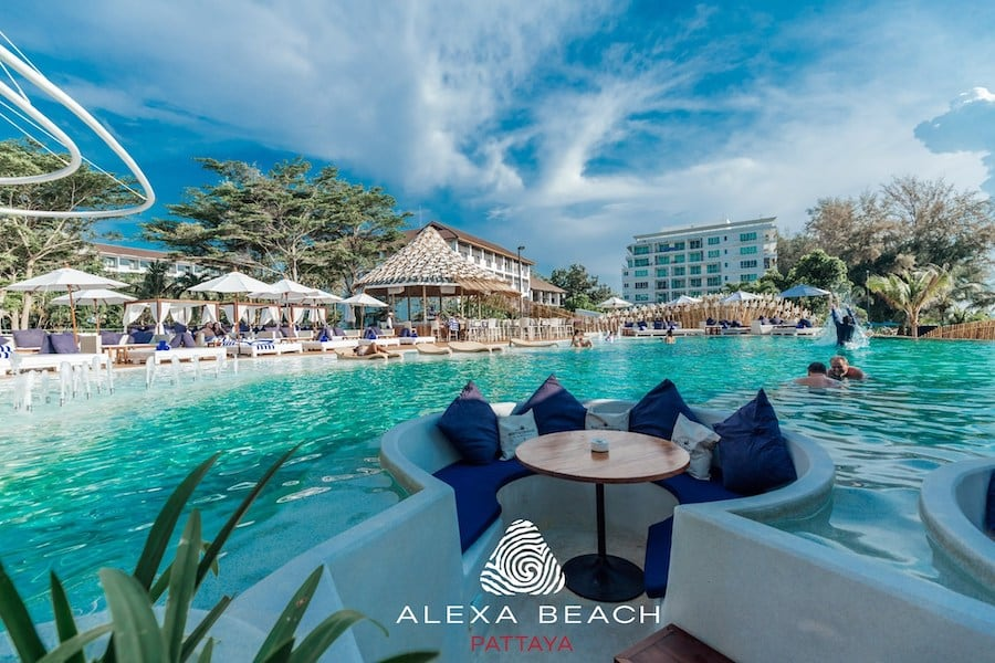 alexa beach club in Pattaya