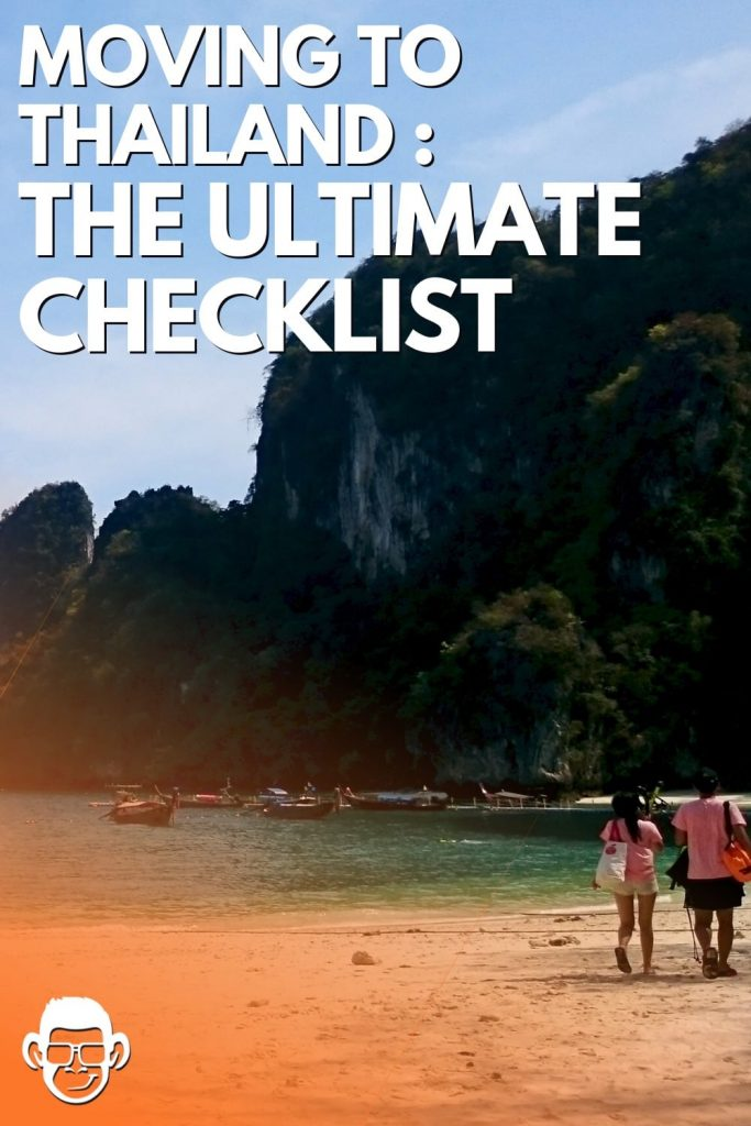 moving to thailand the ultimate checklist mojomatt pinterest