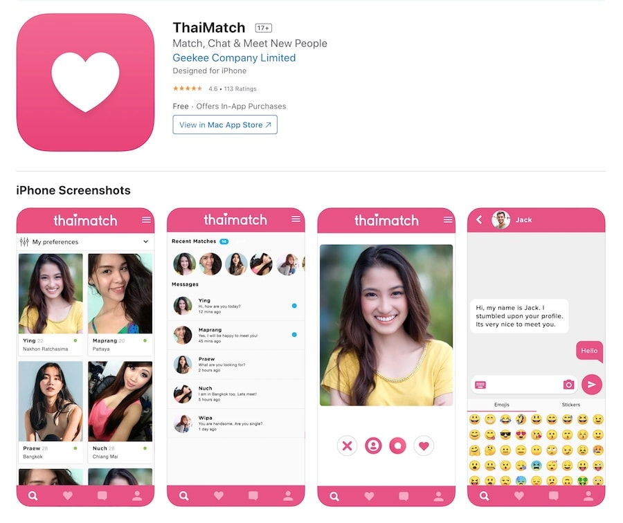 Thaimatch on the App Store