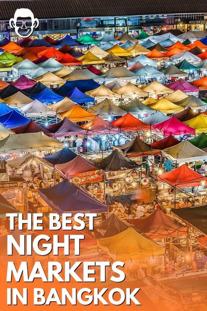 pinterest image for the best night markets in bangkok by mojomatt